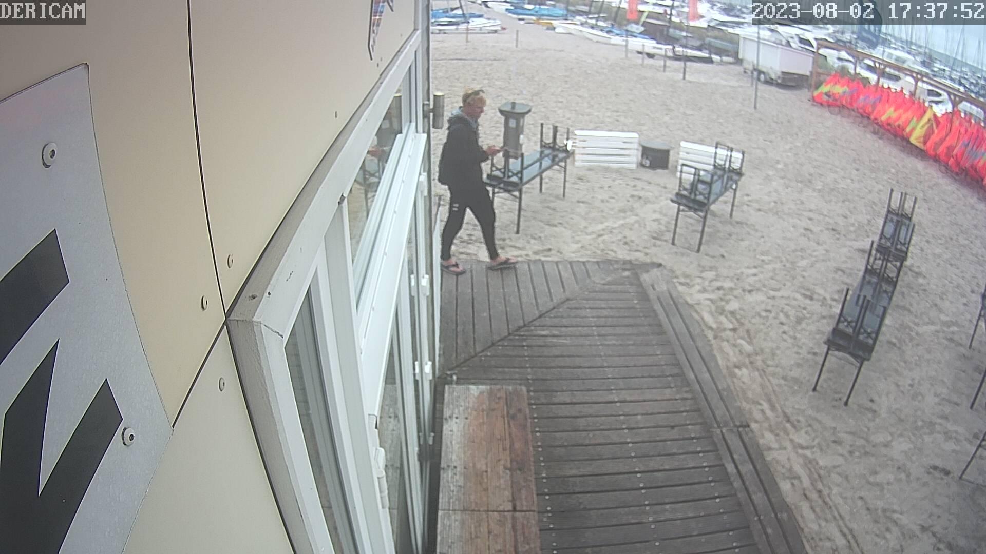 Webcam Bild mit Blick zum Hafen